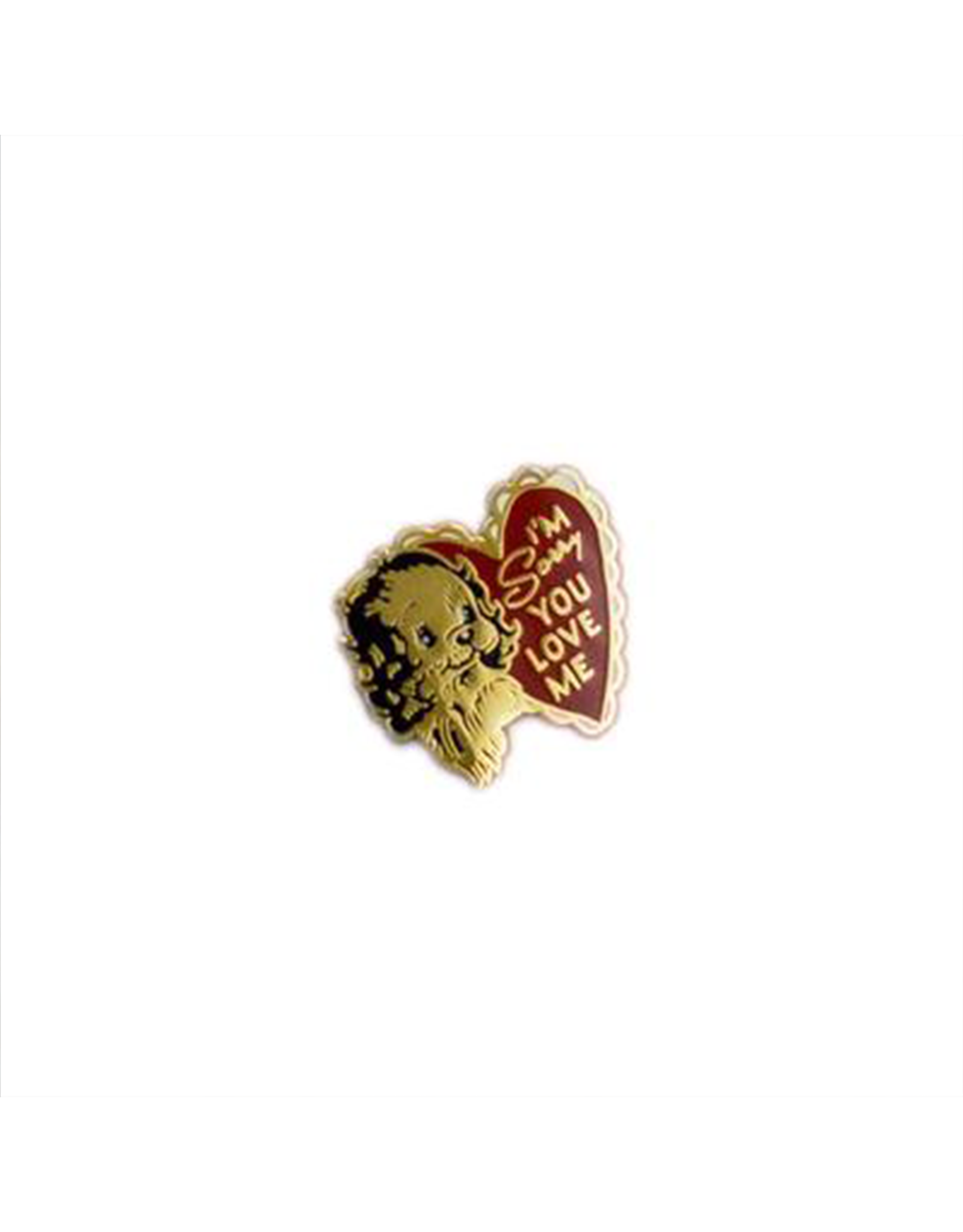 Stay Home Club Sorry You Love Me Lapel Pin