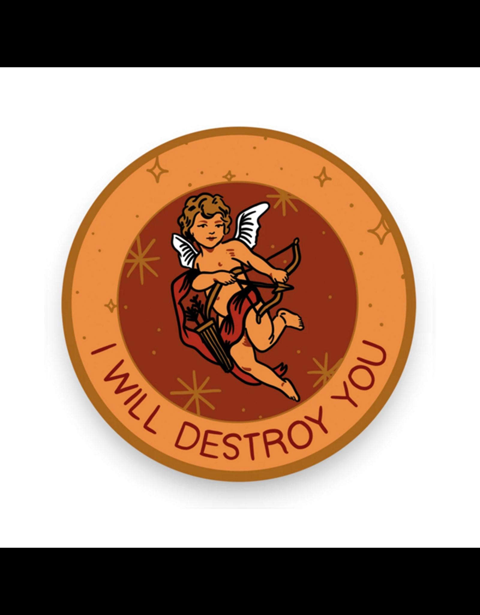 Stay Home Club Cupid Destroy Vinyl Sticker