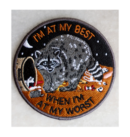 Stay Home Club At My Best Raccoon Patch
