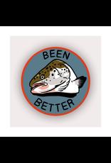 Stay Home Club Been Better (Fish) Vinyl Sticker
