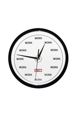 No Fun Time For Work Clock
