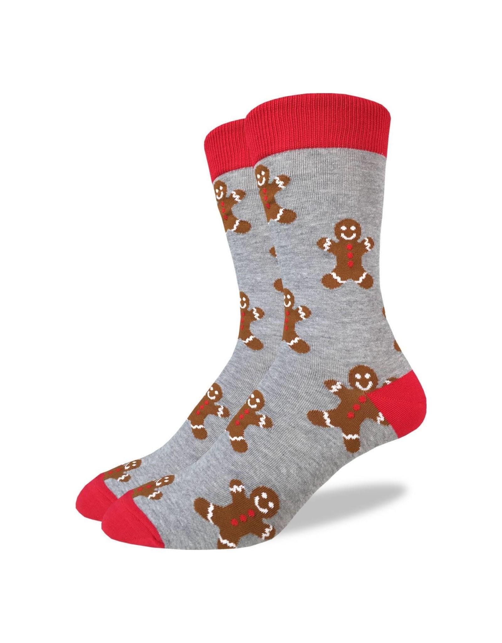 Good Luck Sock Men's Gingerbread Men Socks