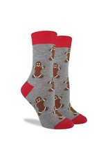 Good Luck Sock Women's Gingerbread Men Socks