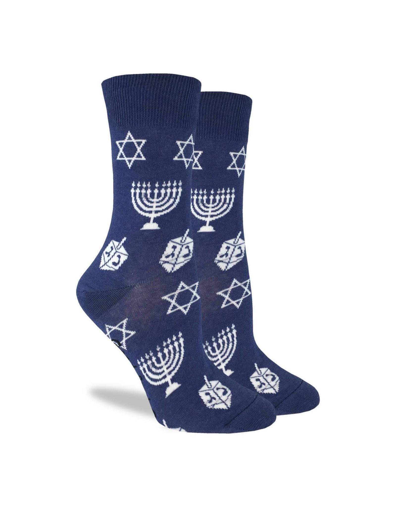Good Luck Sock Women's Hannukah Socks
