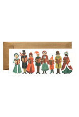 Rifle Paper Co. Carolers Christmas Card