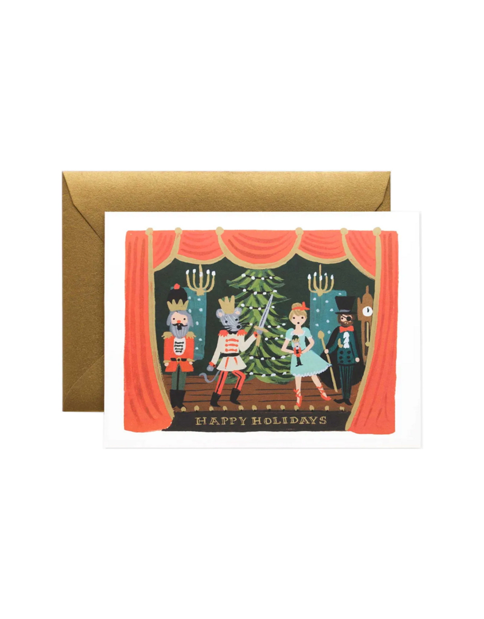 Rifle Paper Co. Nutcracker Scene Card