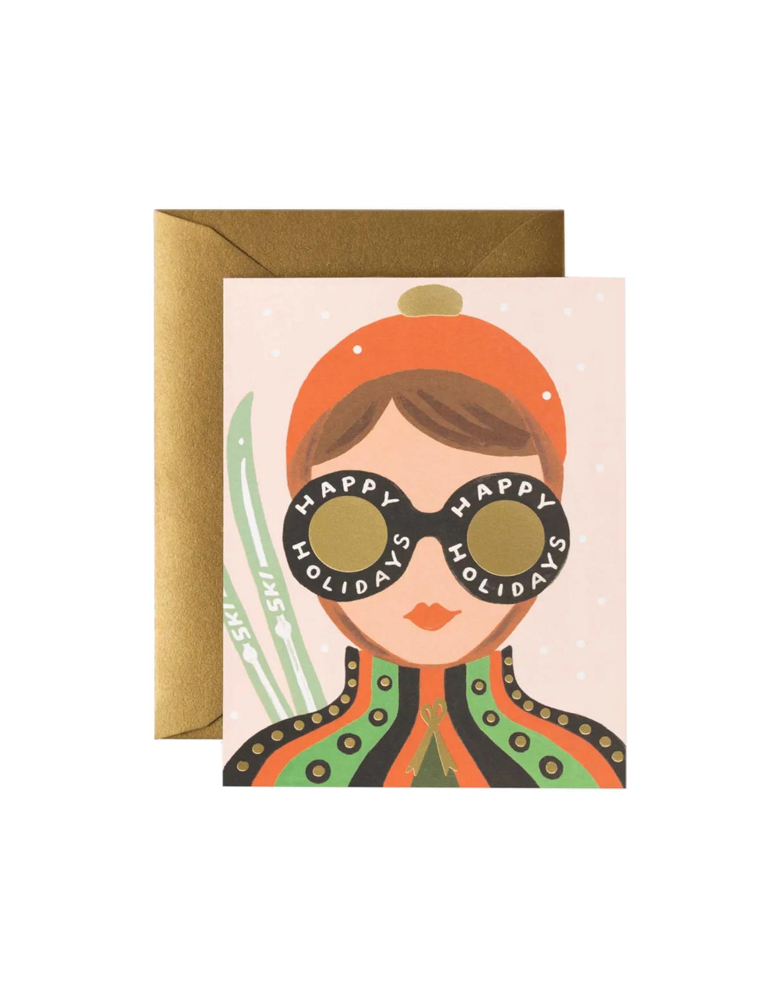 Rifle Paper Co. Ski Girl Card