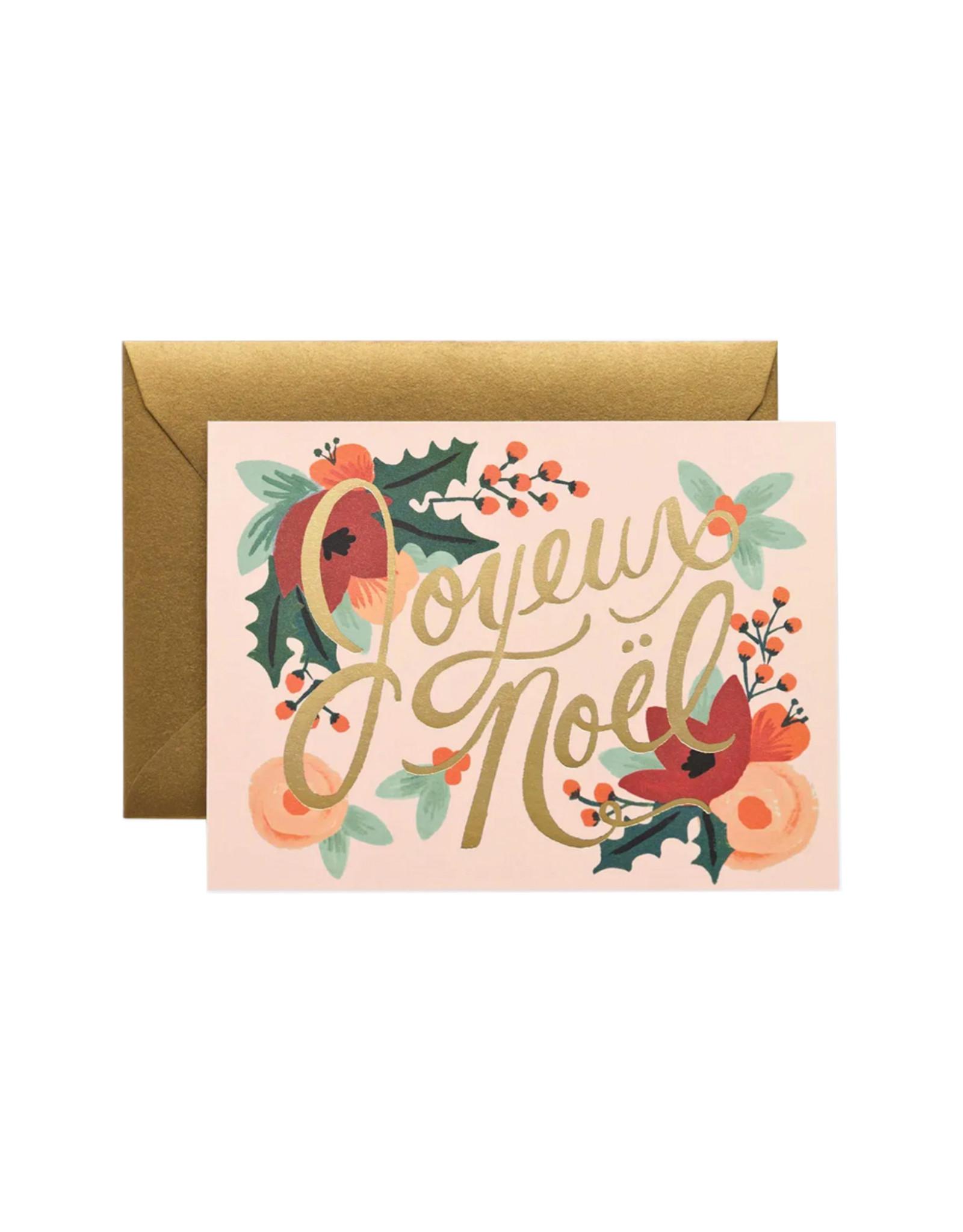 Rifle Paper Co. Boxed Set of Joyeux Noel Cards