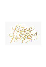 Rifle Paper Co. Happy Holiday's Die-Cut Gift Tags, Pack of 8