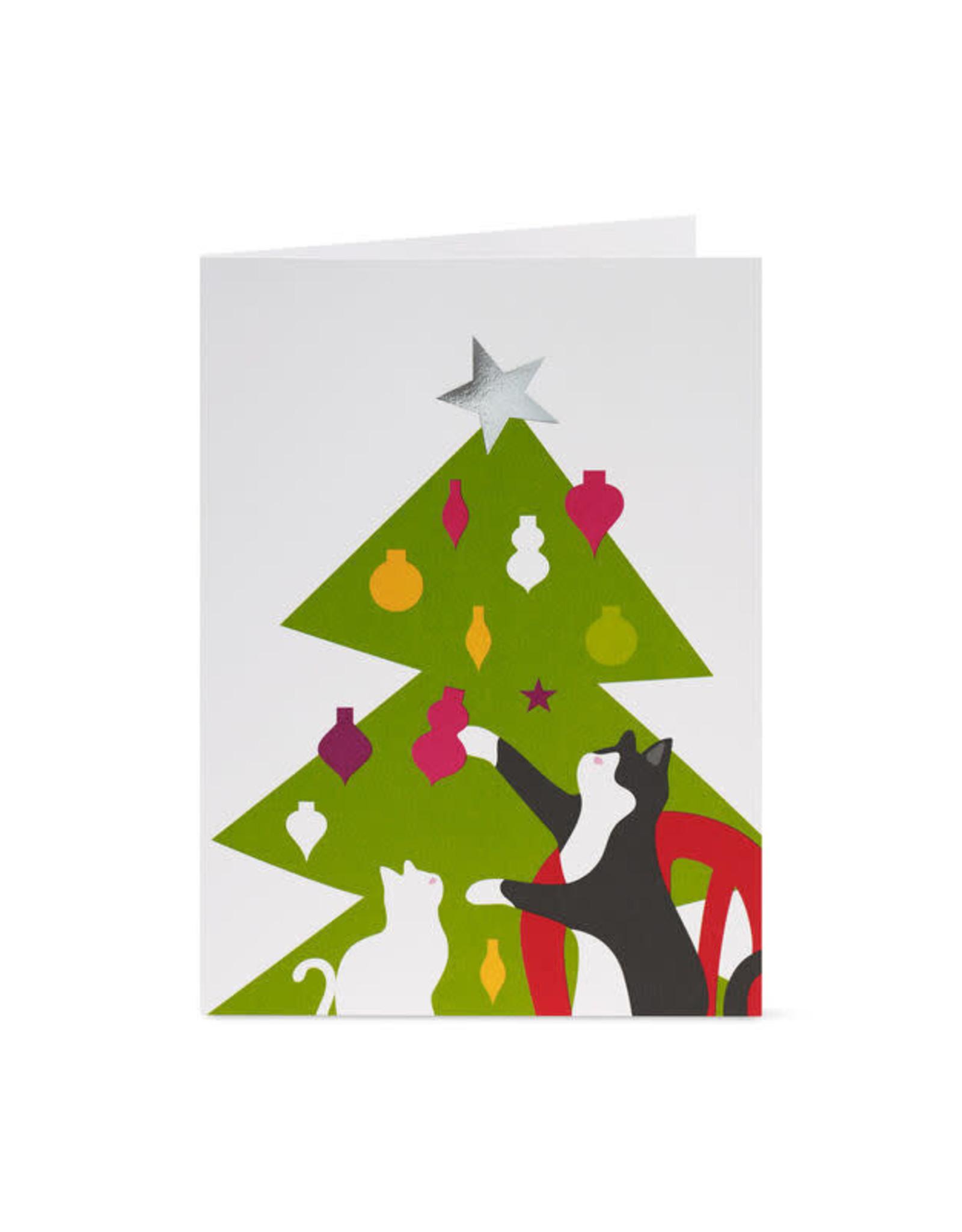 MoMA Boxed Card Set, Christmas Cats