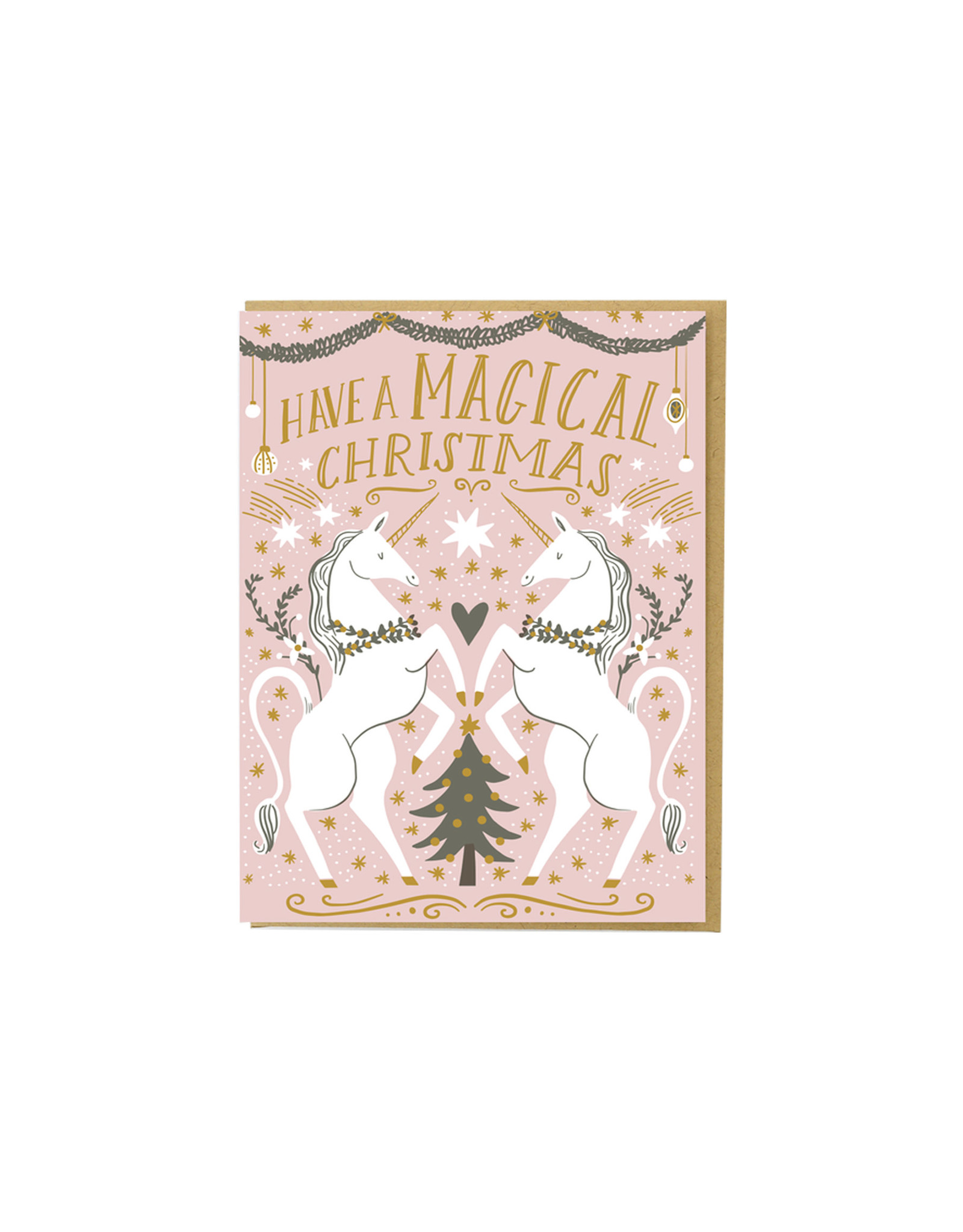 Hello Lucky Magical Christmas Card