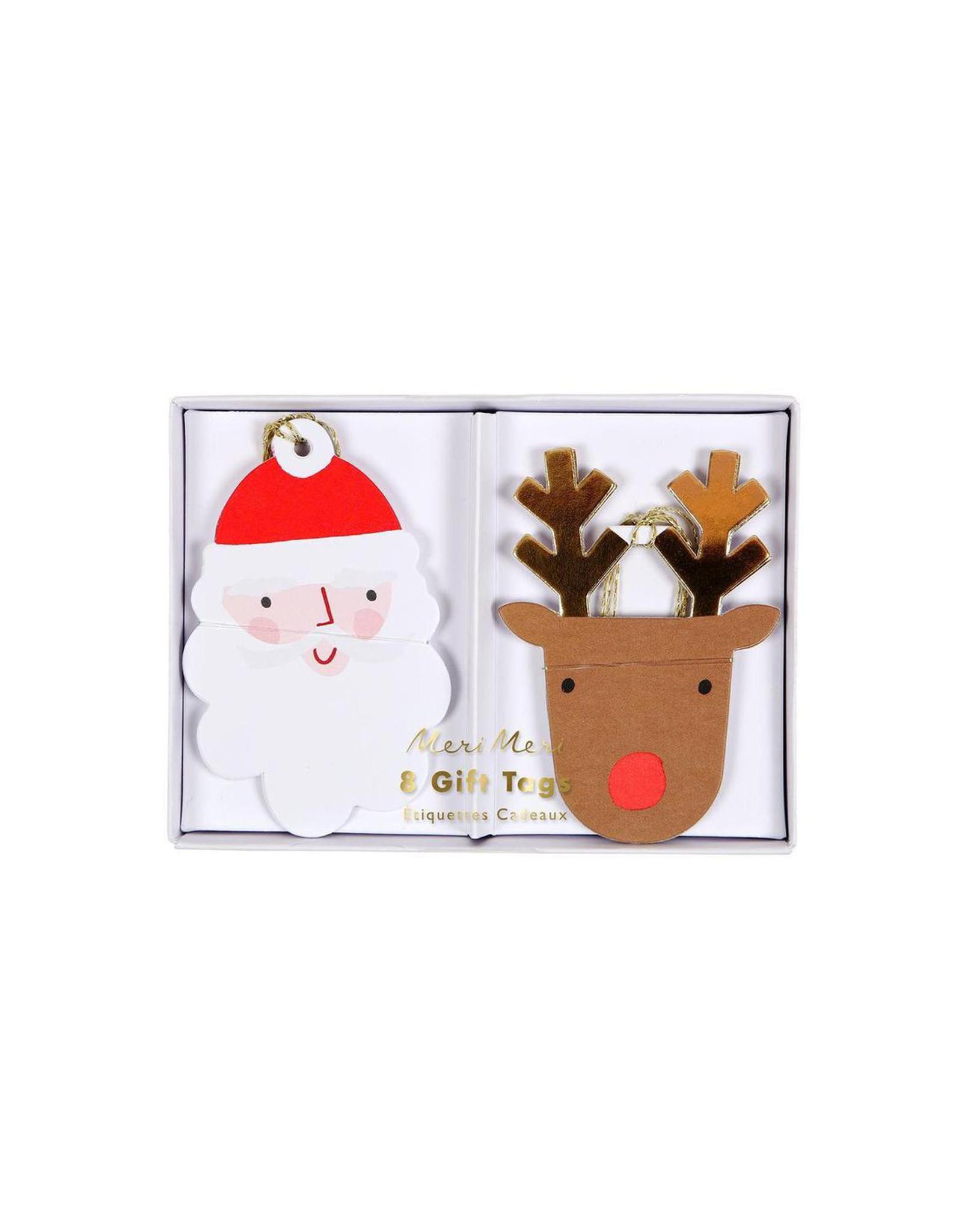 Meri Meri Santa and Reindeer Gift Tags