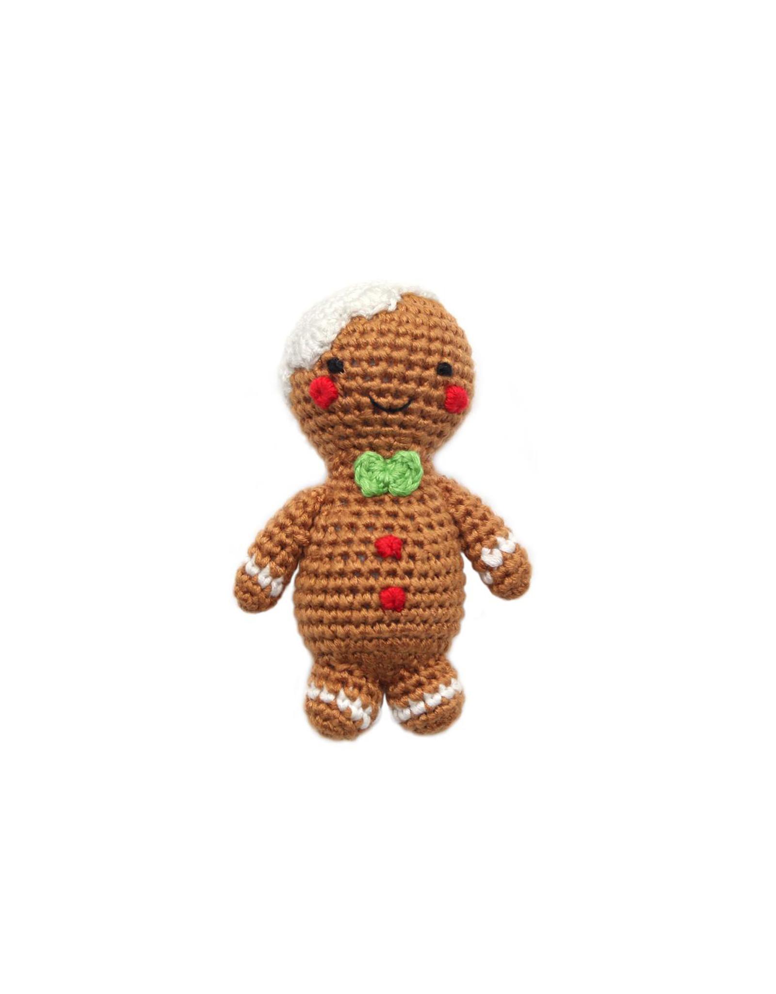 Cheengoo Gingerbread Man Rattle
