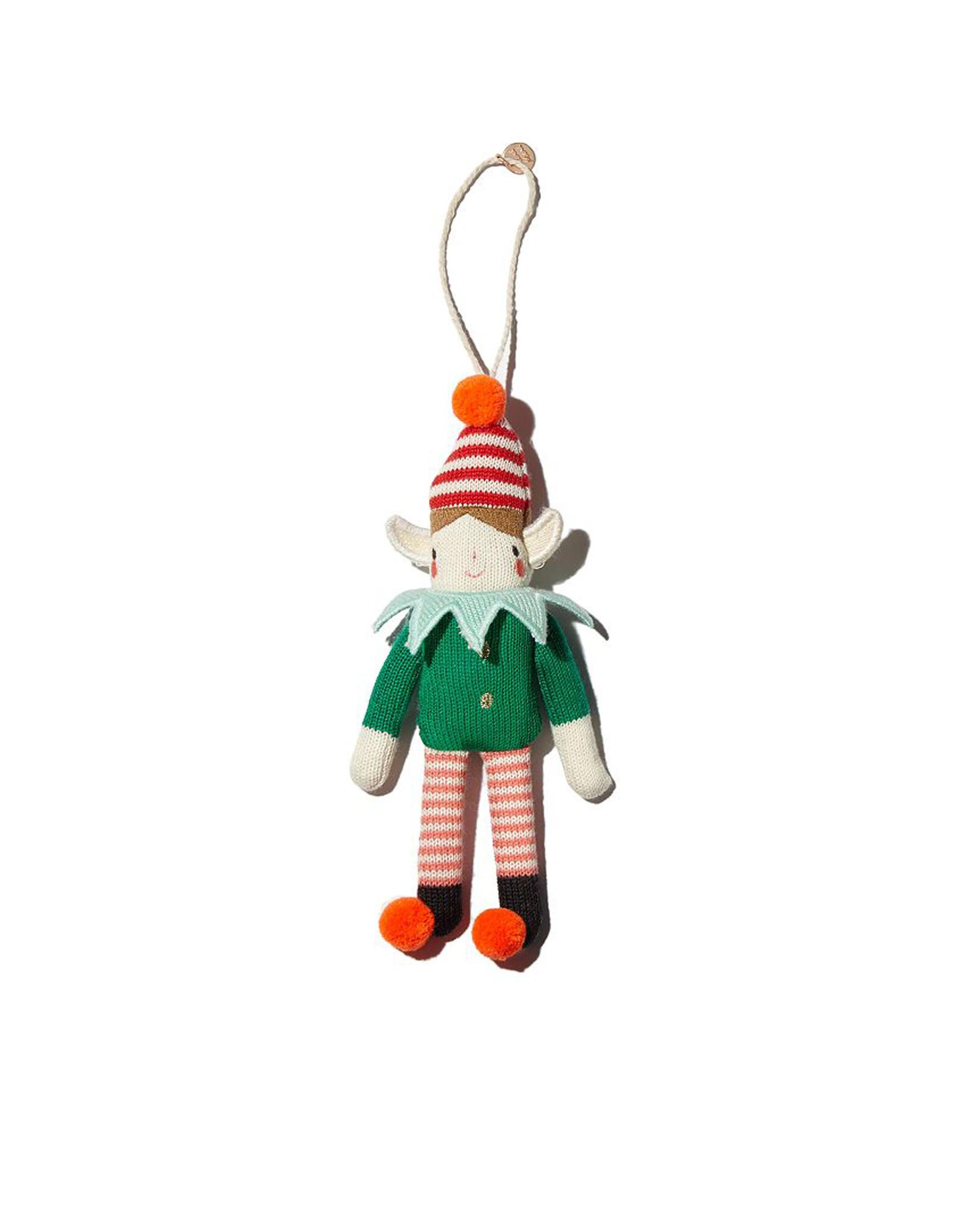 Meri Meri Elf Knitted Ornament