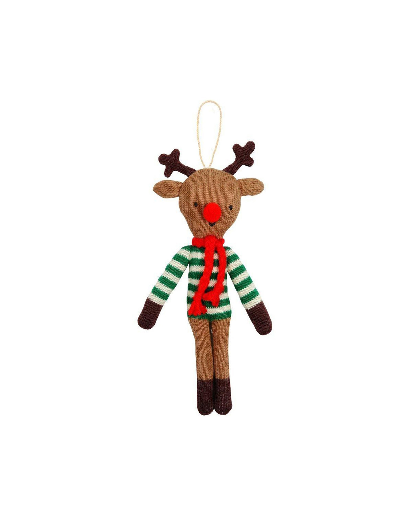 Meri Meri Reindeer Knitted Ornament