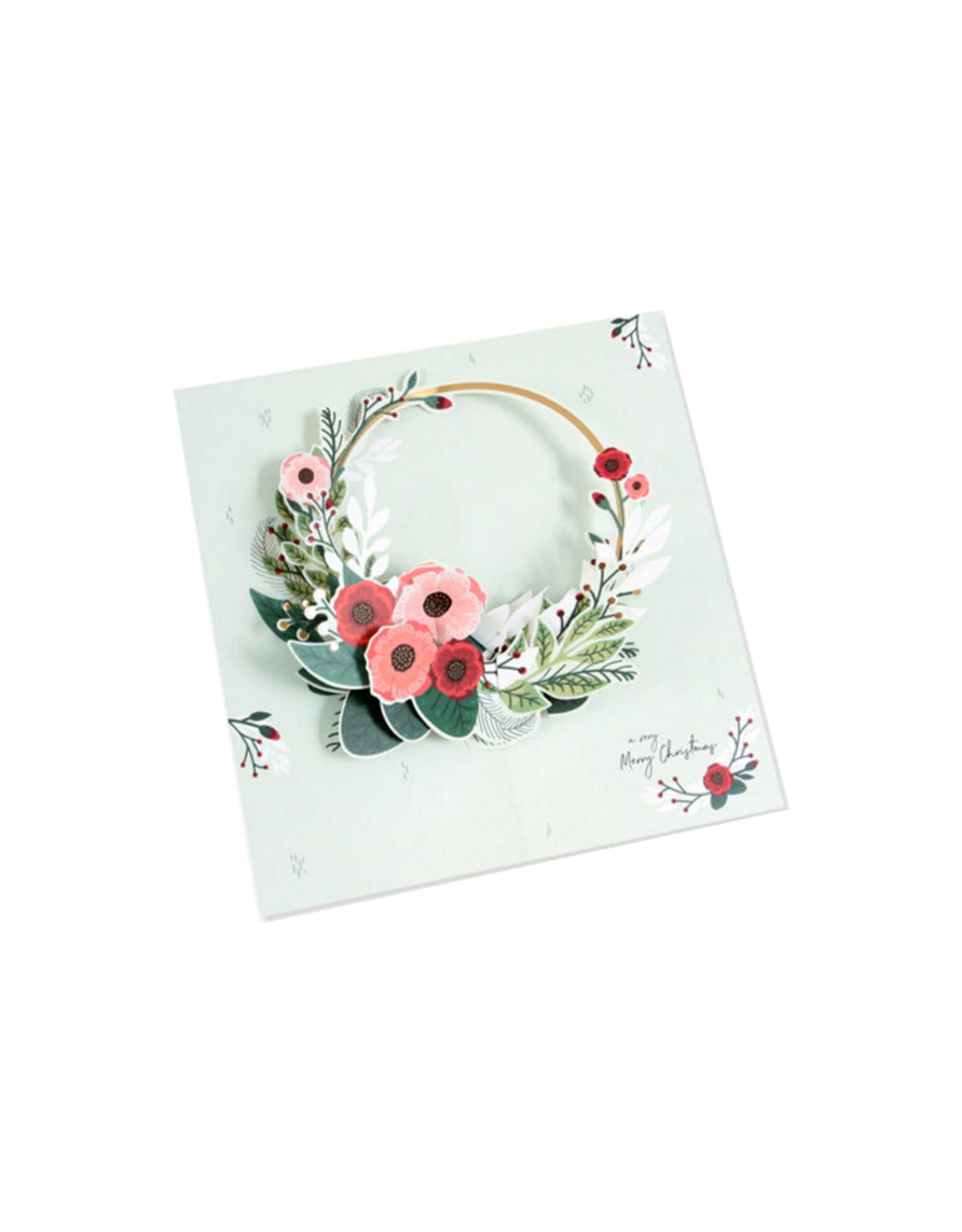 MoMA Card Wreath