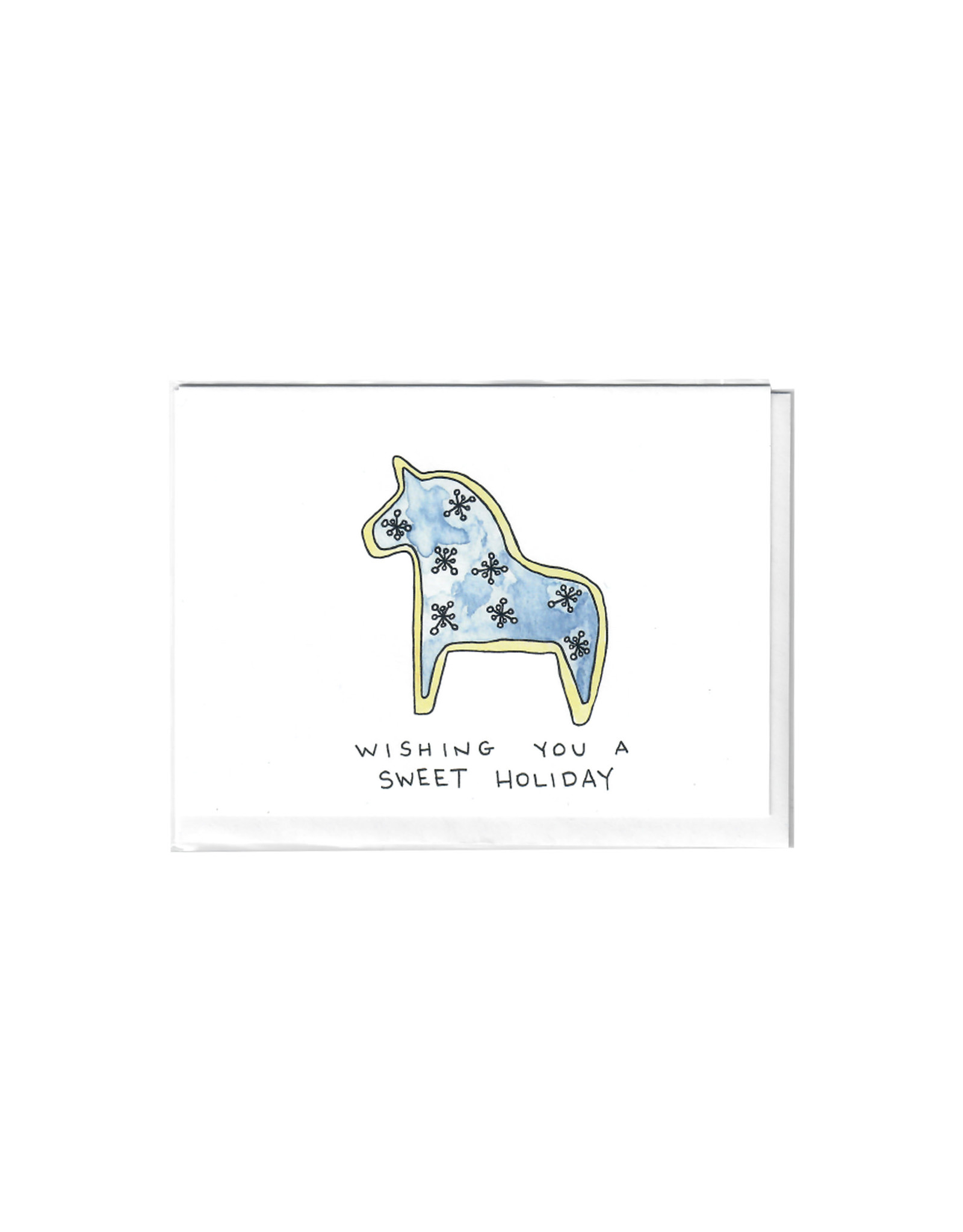 Alex Davey Horse Card