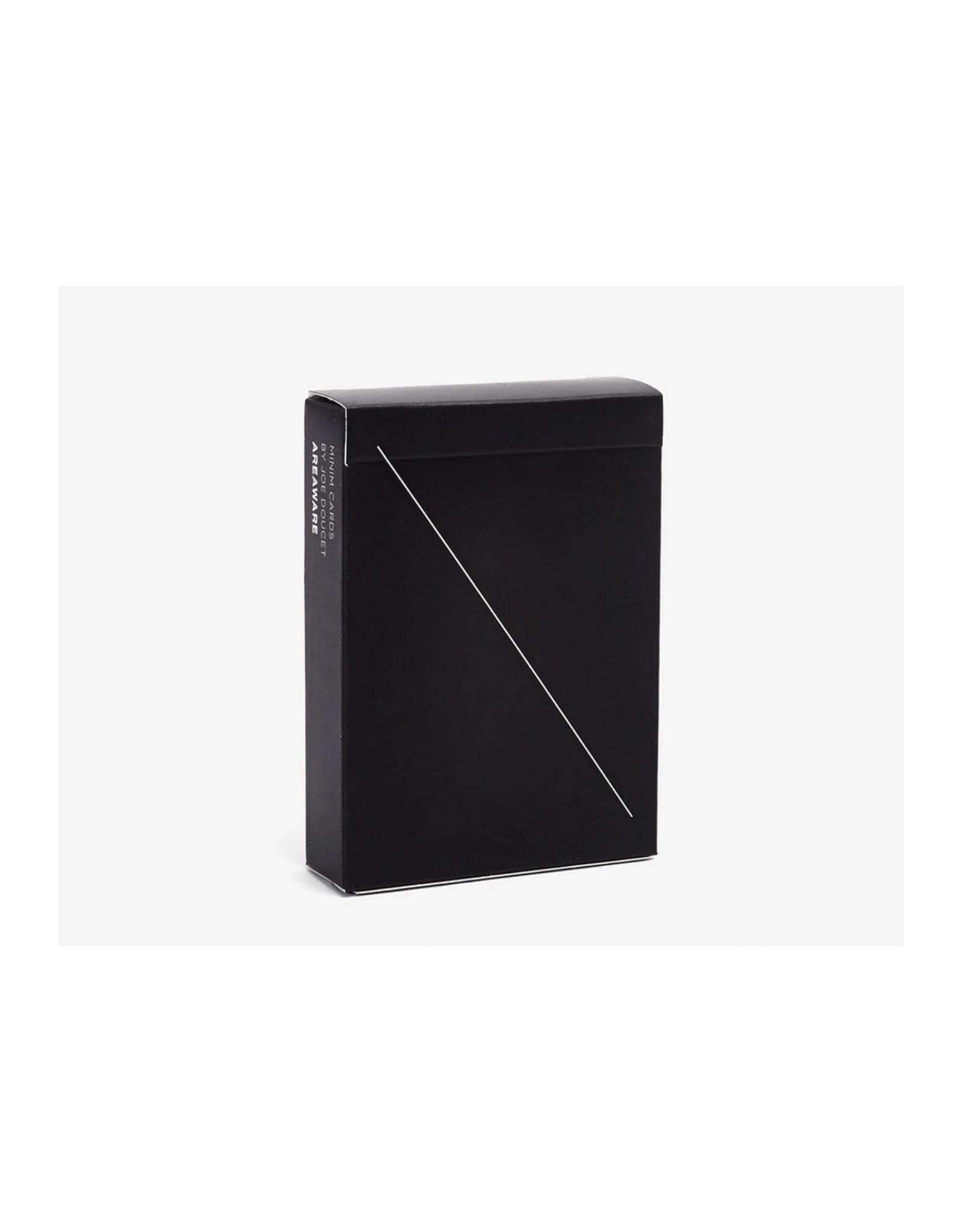 Areaware Minim Playing Cards, Black