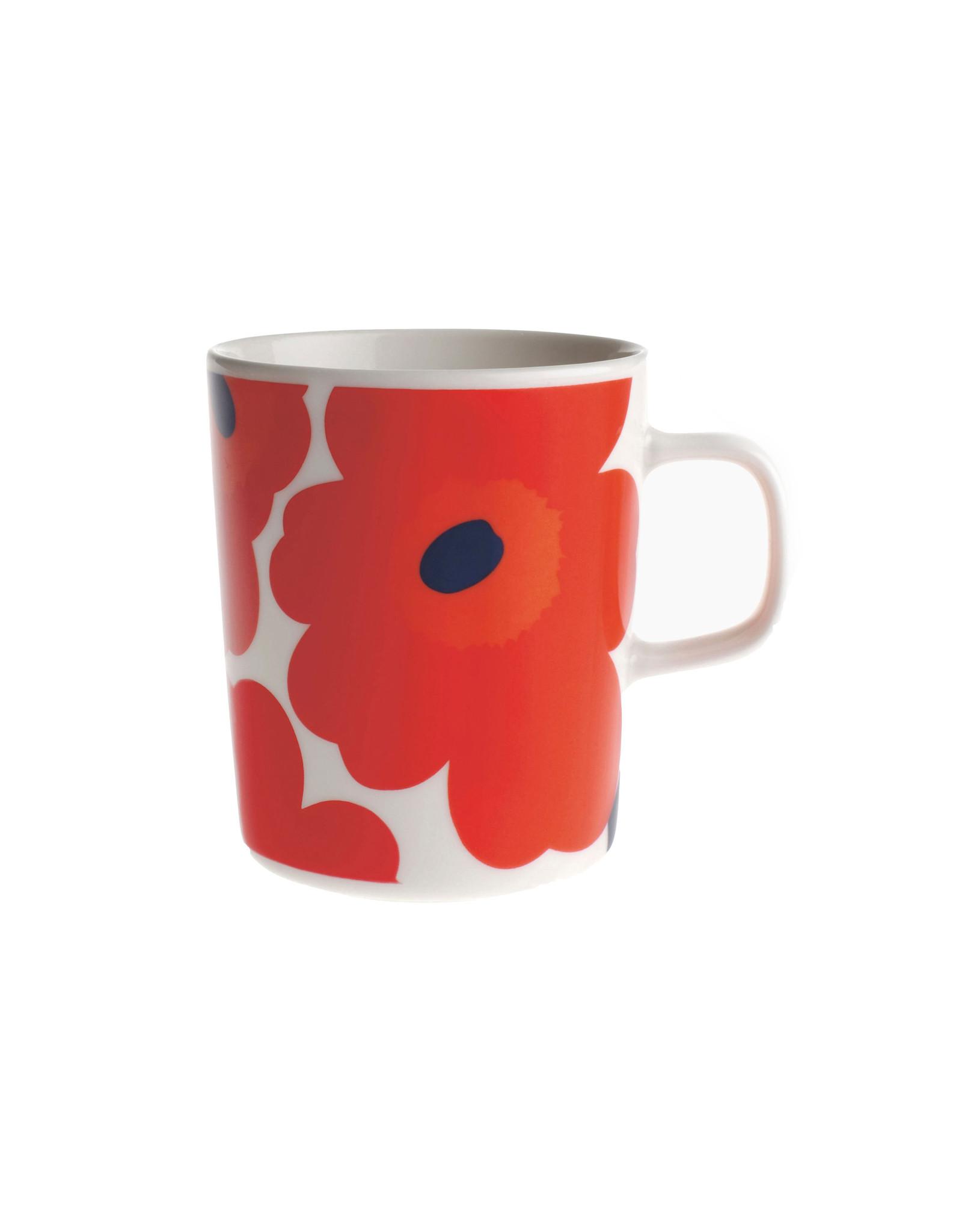 Marimekko 2.5 Mug, Unikko Red