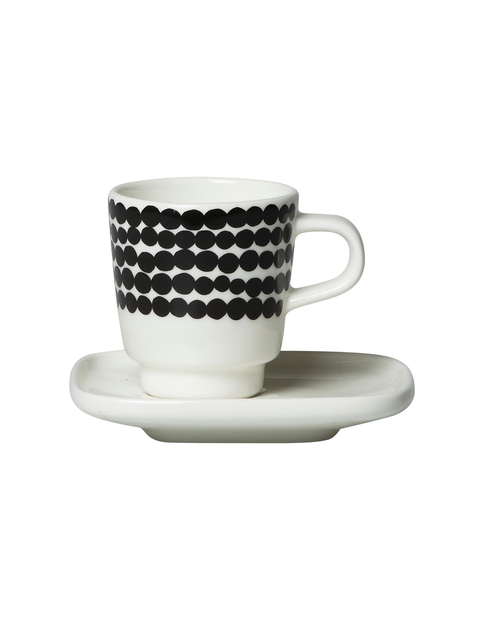 Marimekko Espresso Cup and Saucer, Siirtolapuutakha