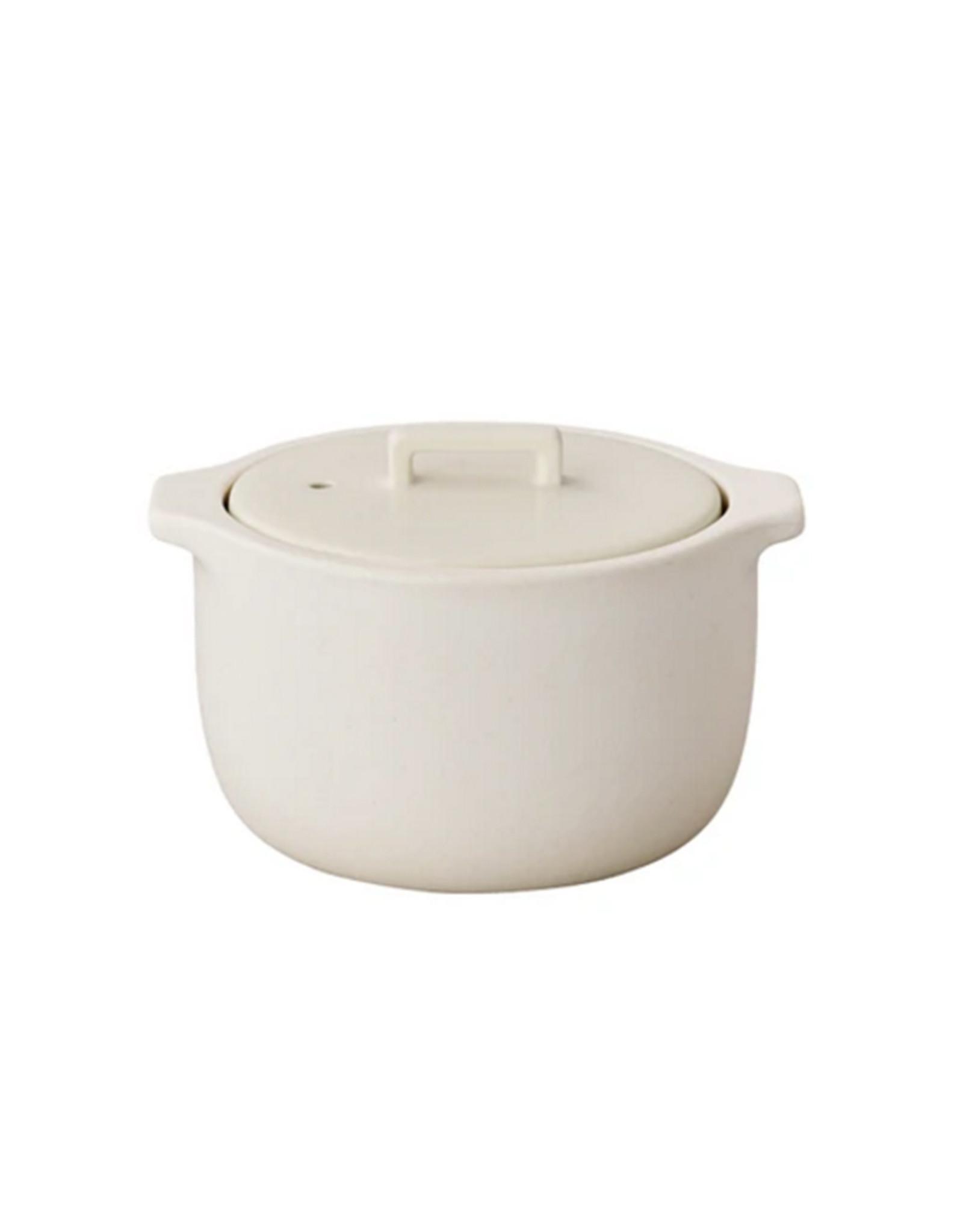 Kinto Kakomi Rice Cooker 1.2L, White