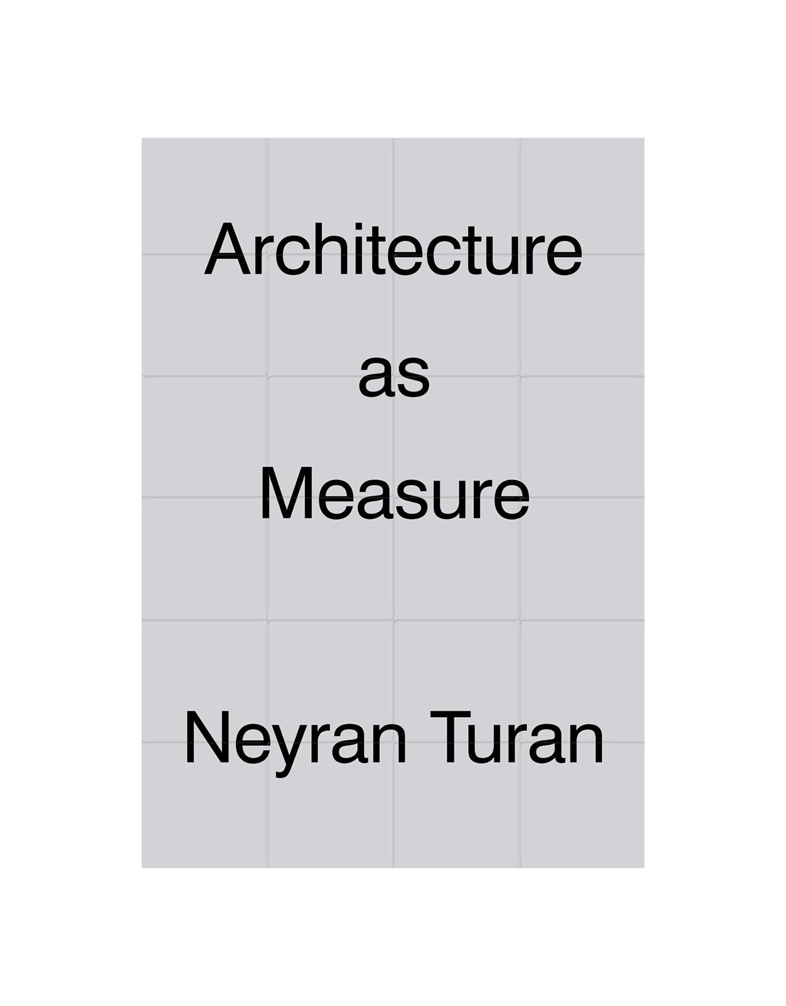 Architecture As Measure