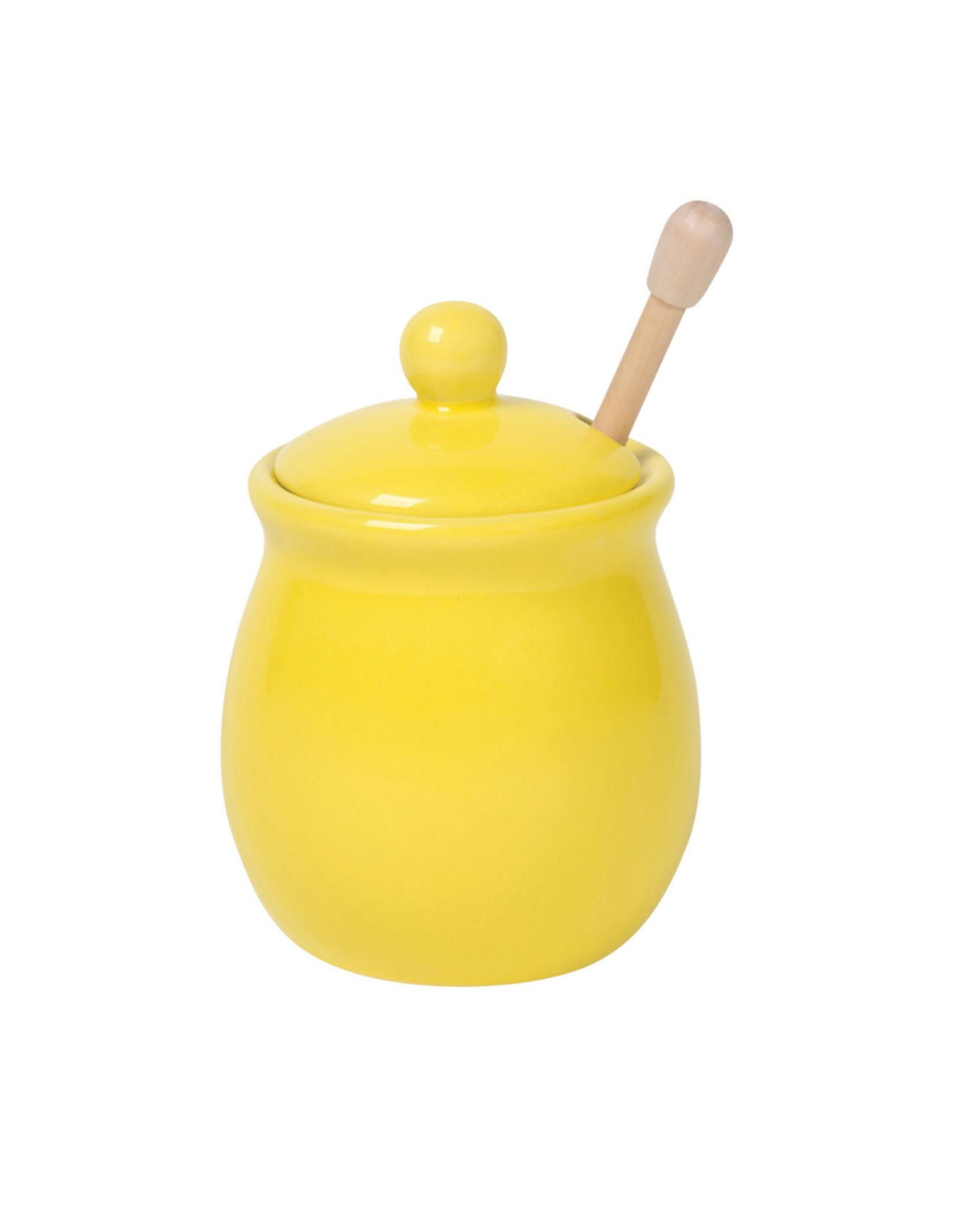 Danica Honey Pot, Lemon Yellow