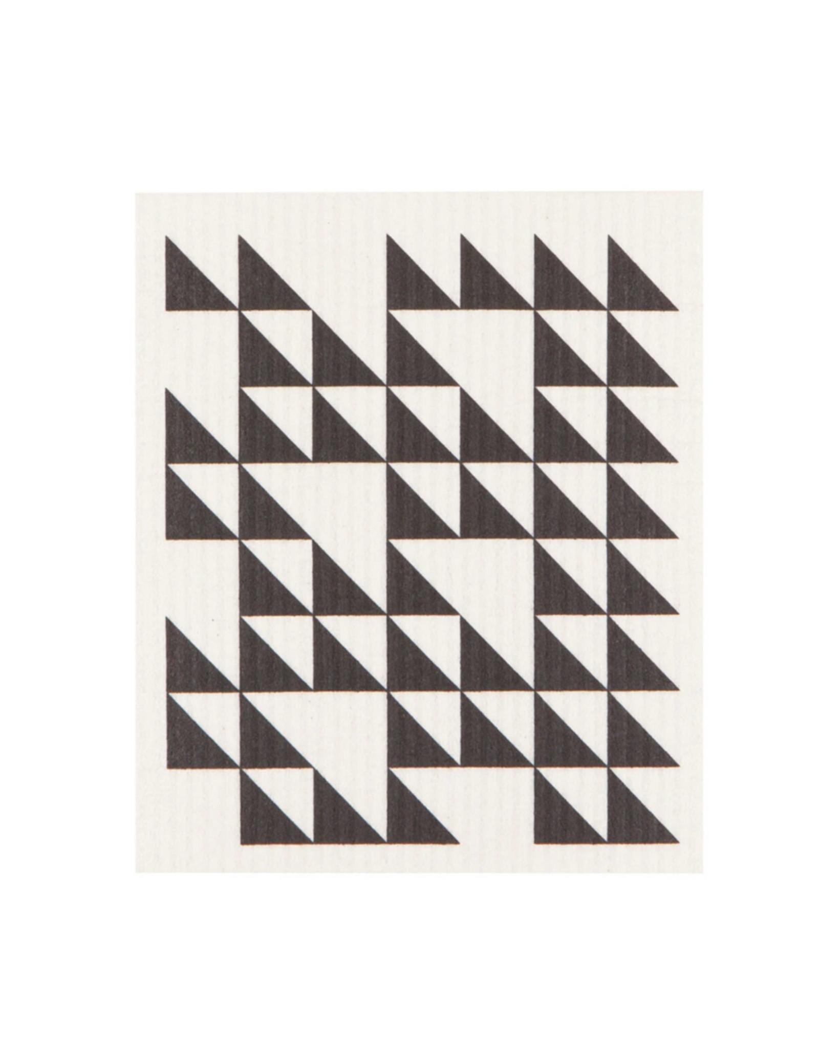 Danica Ecologie Swedish Sponge Cloth, Black Triangles