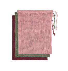 Danica Le Marche Blush Produce Bags, Set of 3