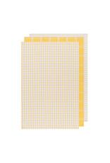 Danica Lemon Tic Tac Toe Dishtowels, Set of 3