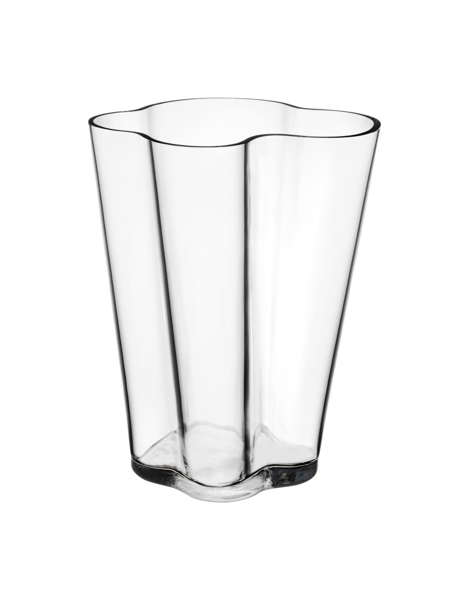 Aalto Grand Vase 220mm, Clear