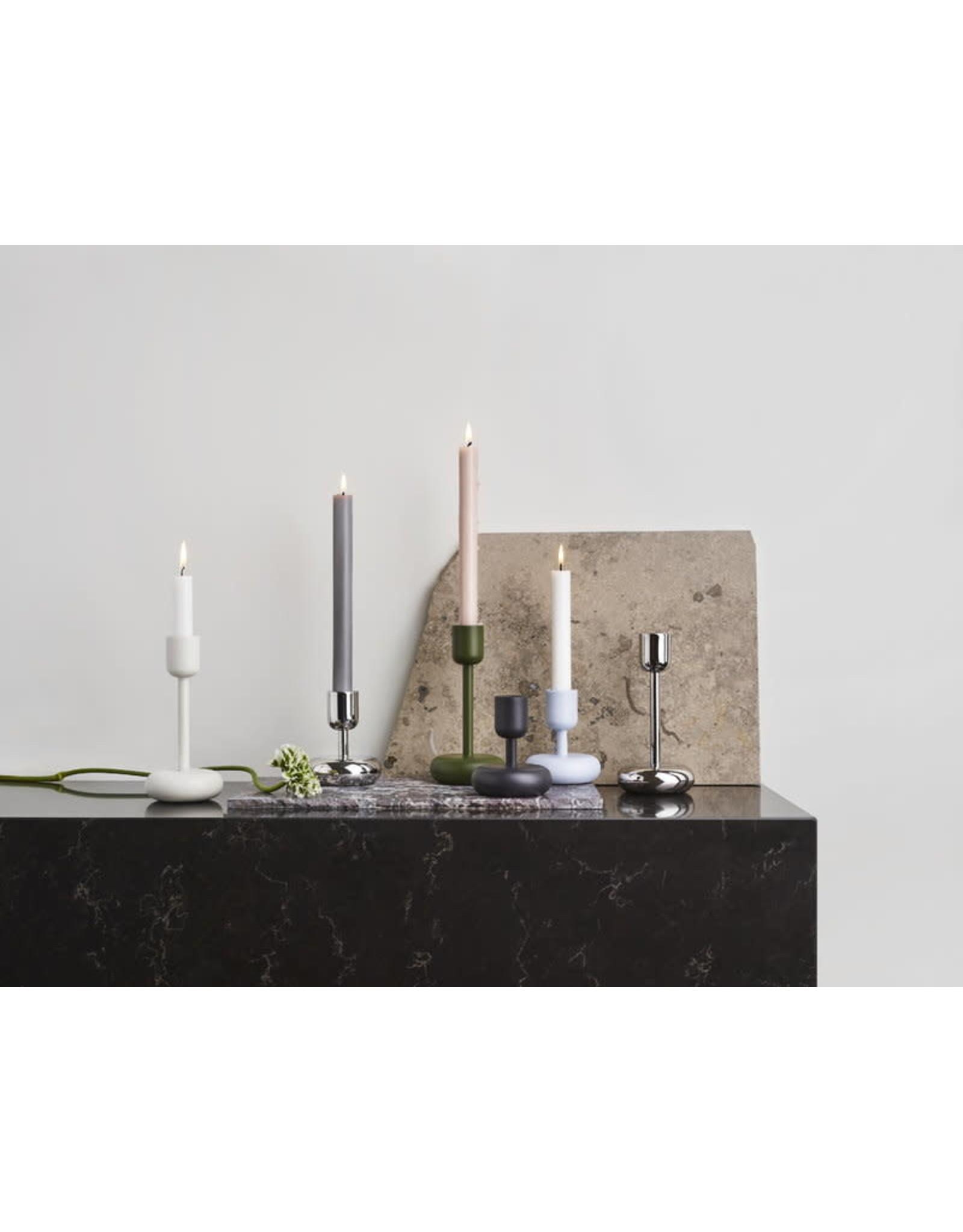 Nappula Candleholder Set of 2, White