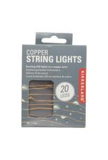 Kikkerland Copper String Lights
