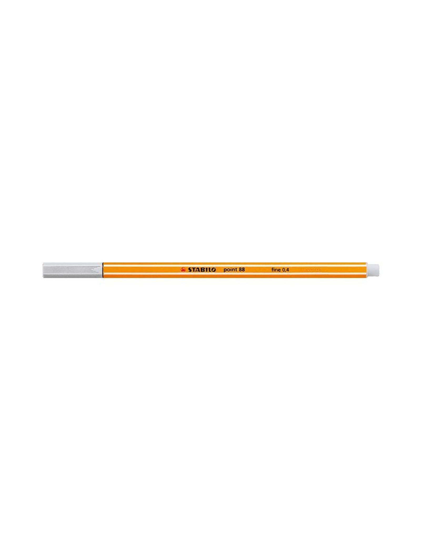 Stabilo Point 88 Fineliner, Light Grey