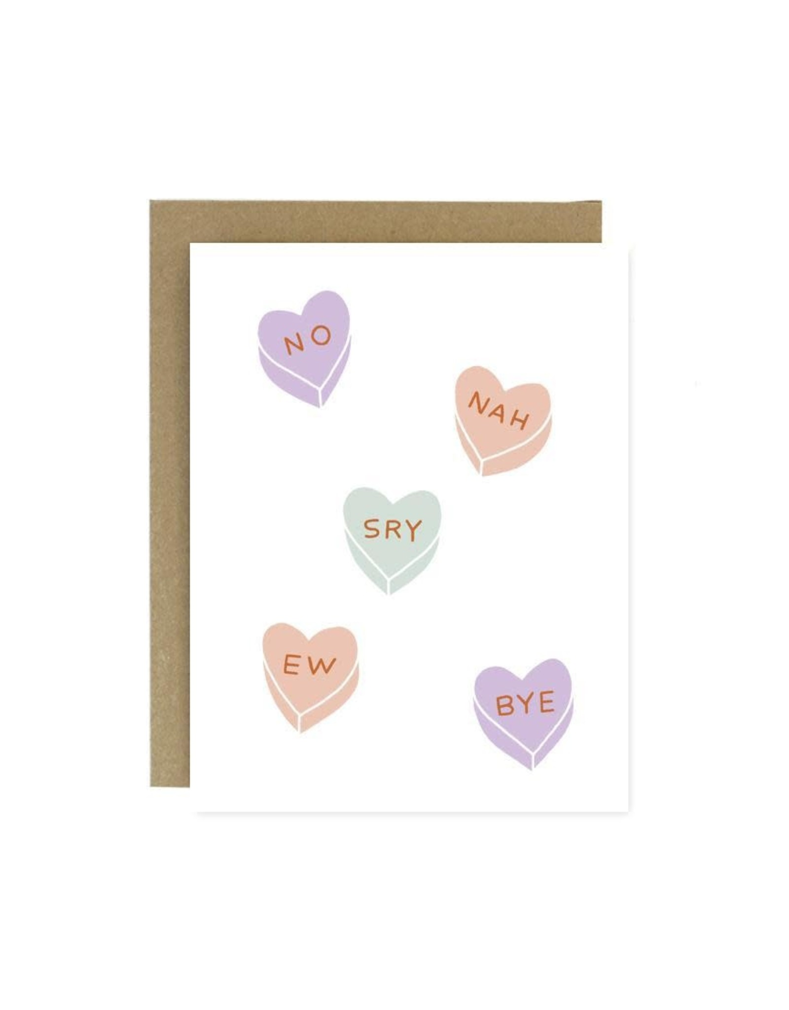 Worthwhile Paper Card, Rejection Hearts