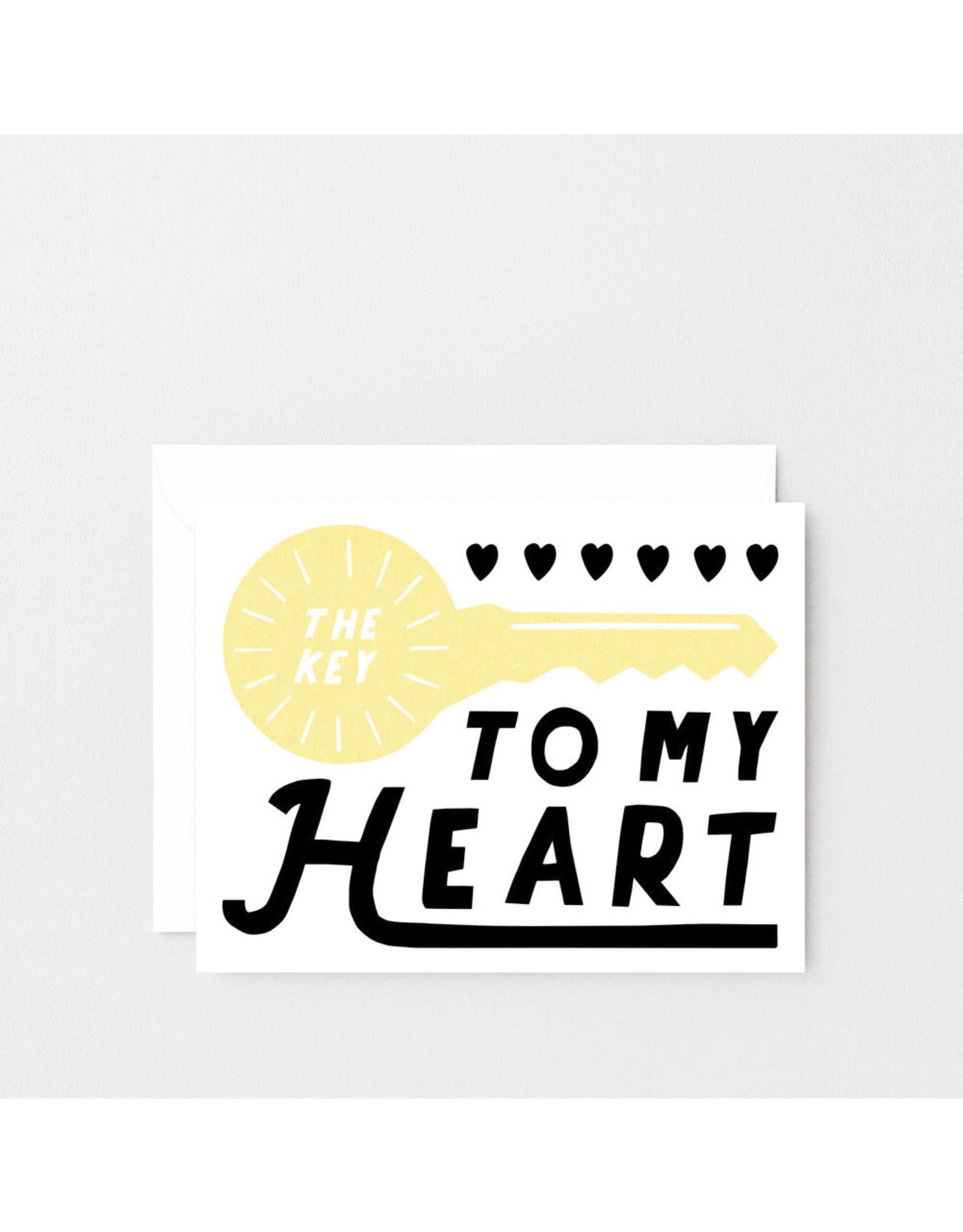 Wrap Card Key to My Heart
