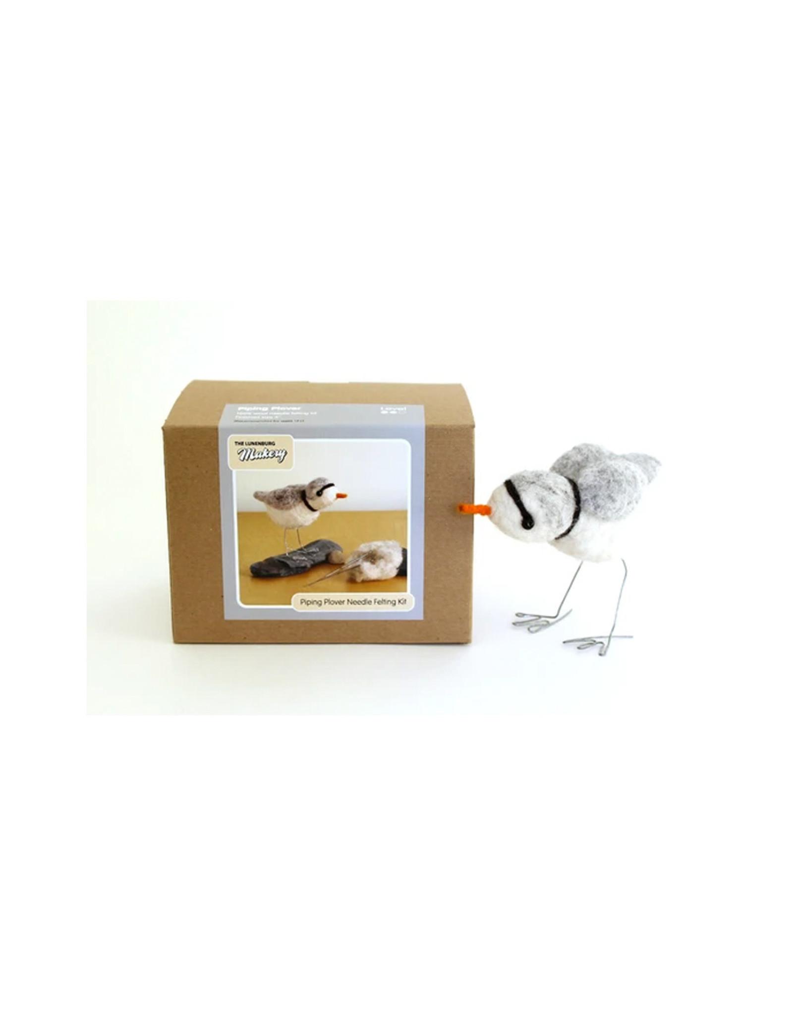 Lunenburg Makery Atlantic Piping Plover Boxed Felt Kit