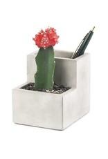 Concrete Small Desktop Planter