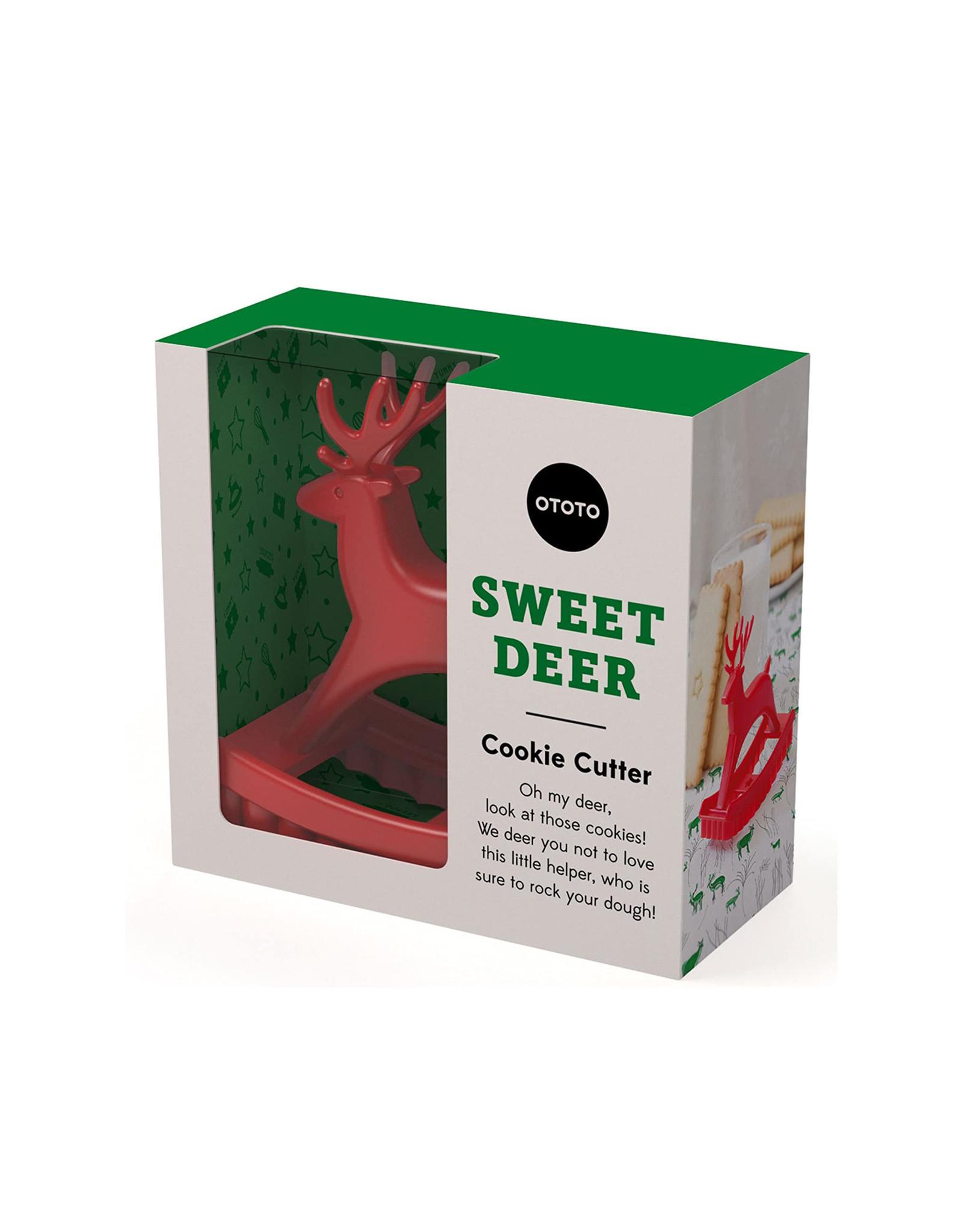 Ototo Sweet Deer Cookie Cutter