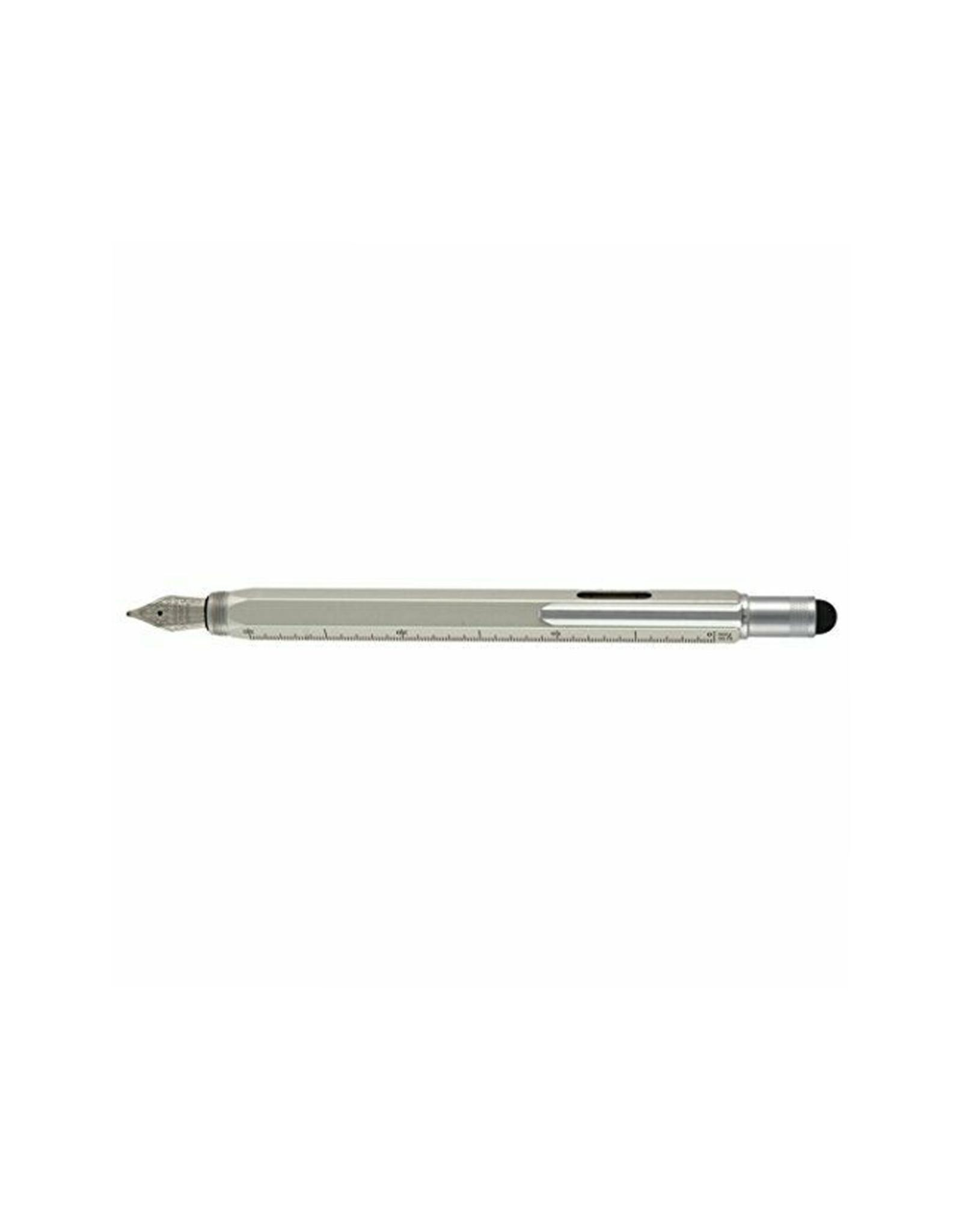 Monteverde One Touch Fountain Pen, Silver