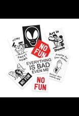 No Fun Loonie Trap Sticker Pack
