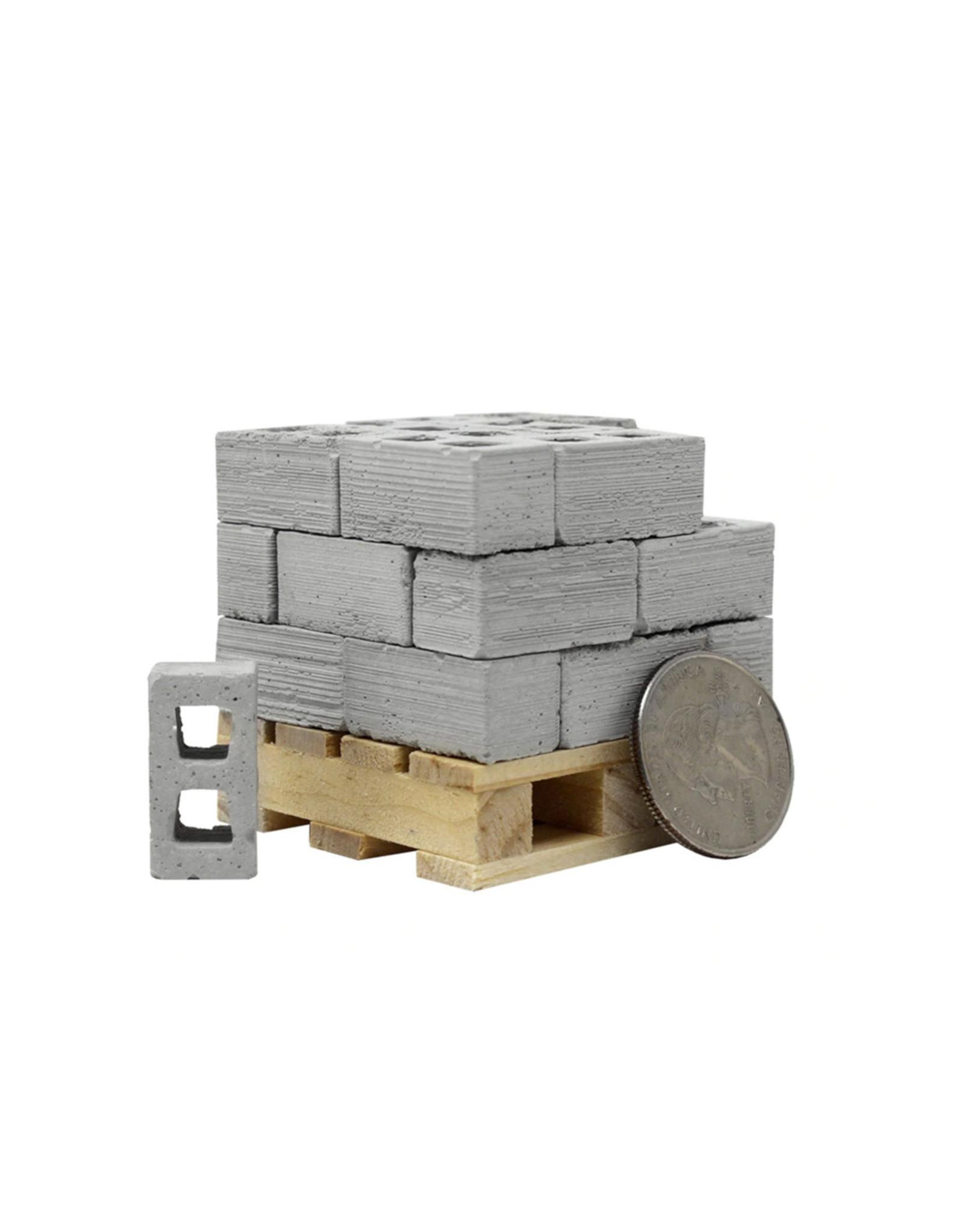 Mini Materials 1:12 Cinder Blocks (Cinders)