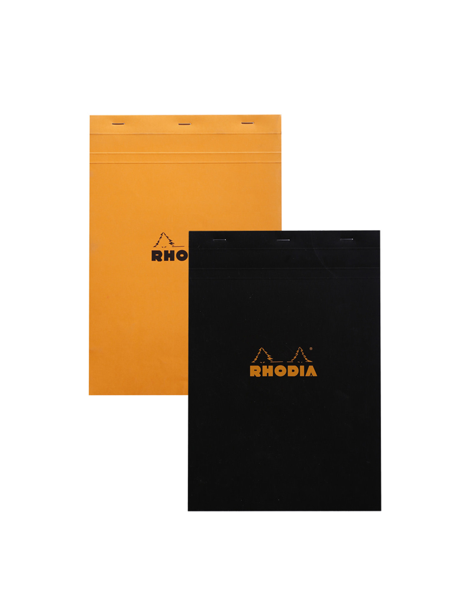 Rhodia Pad No. 18, orange, grid