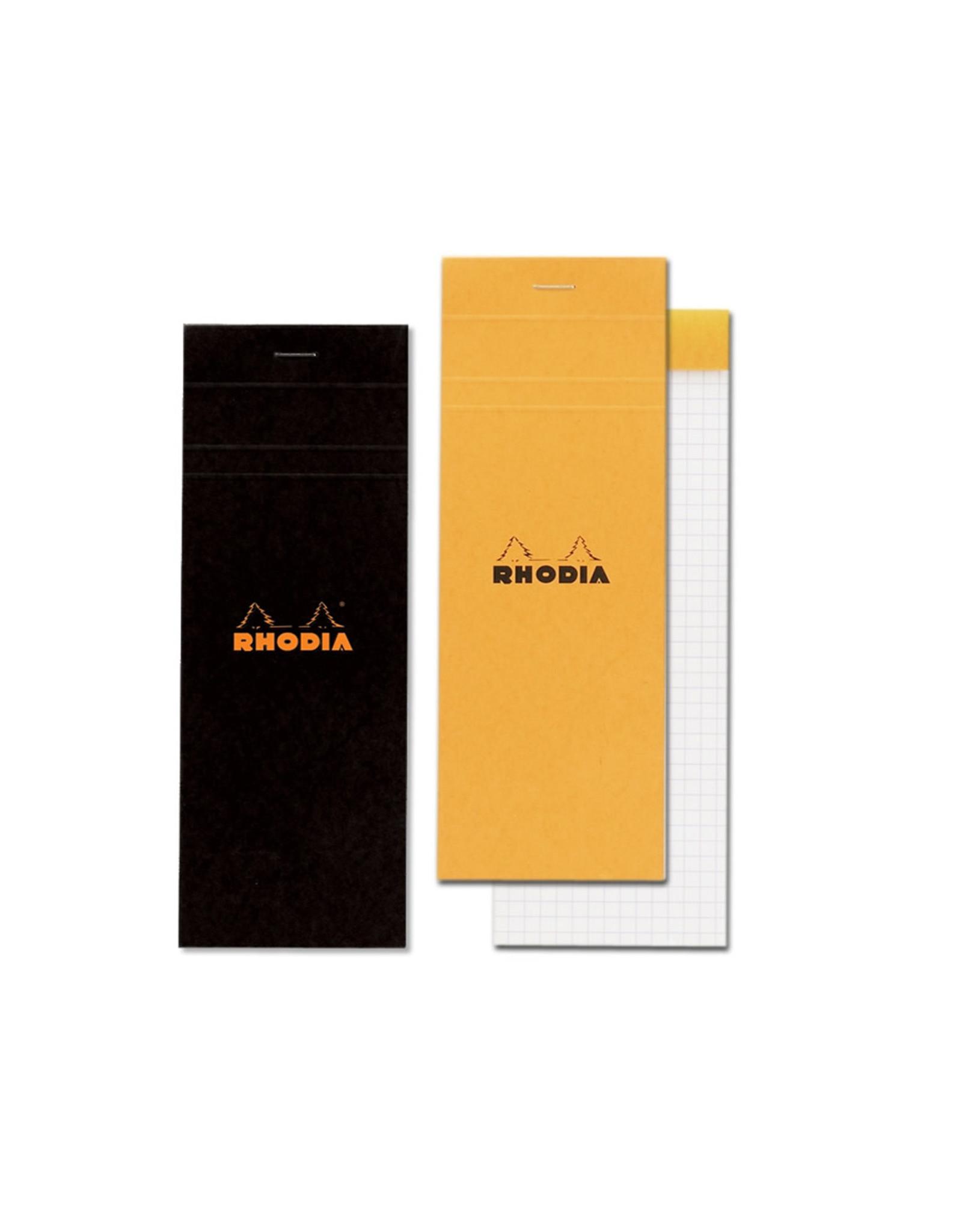 Rhodia Pad No. 8, Graph Black 5x5