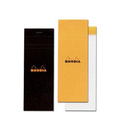 Rhodia Pad No. 8, Black Graph 5x5
