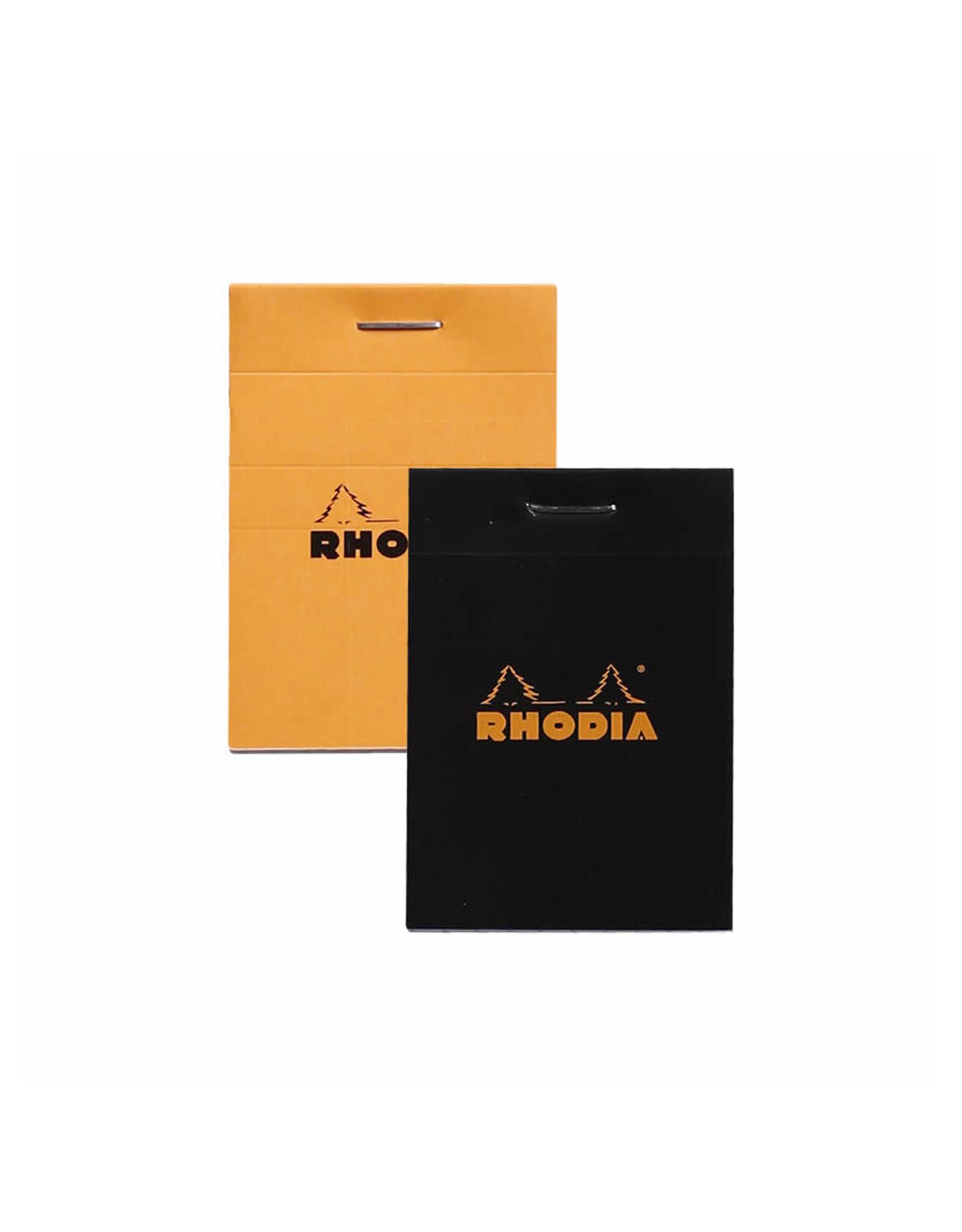 Rhodia Pad No. 10, Black Lined