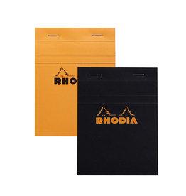 Rhodia Pad No. 13, Black Lined