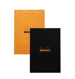 Rhodia Pad No. 18, Orange Lined