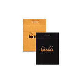 Rhodia Pad No. 11, Black Grid