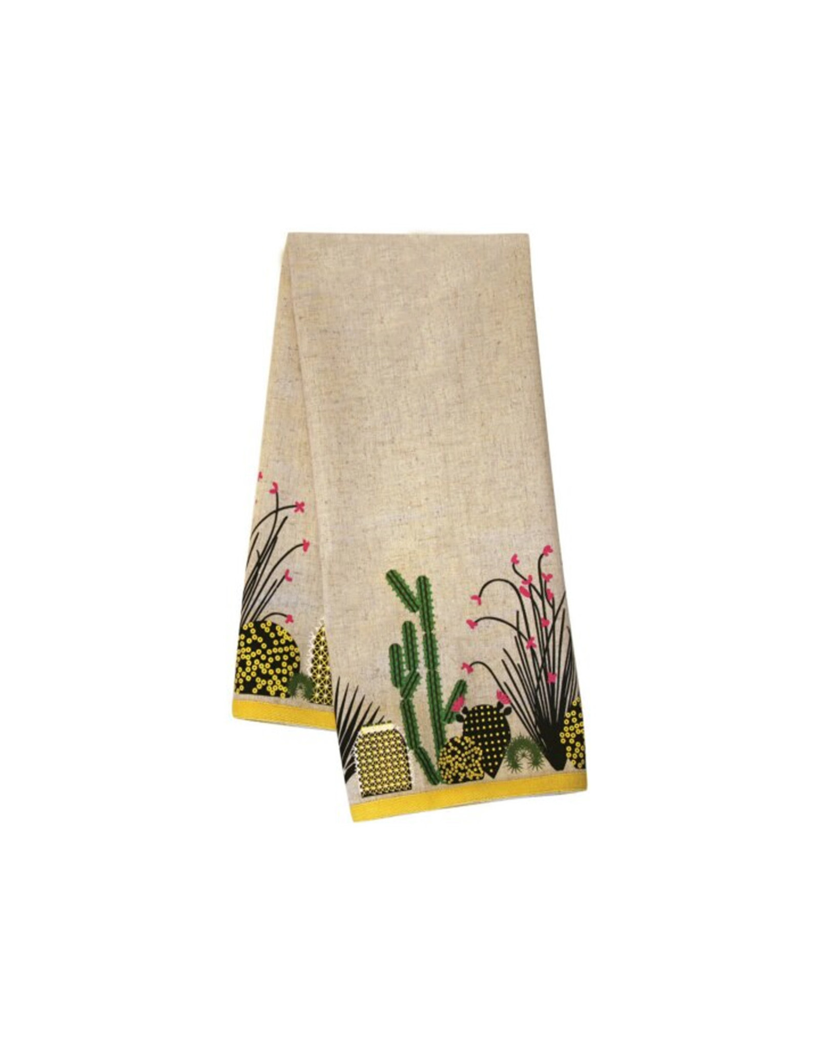 Charley Harper Tea Towel, Cactus